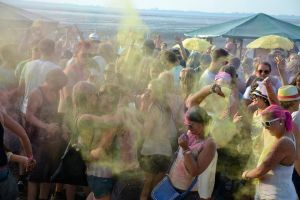 Holi Beach Dangast am 21.07.2018